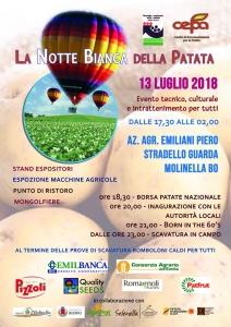 Collari Notte Bianca Patata 2018