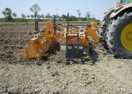 Collari EPRC + ERC Estirpatore + Sezione Posteriore a Rulli, Grubber + Rear Double roller section